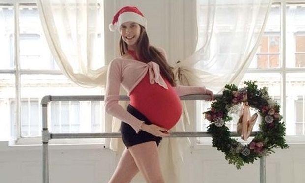 Η μπαλαρίνα που φωτογραφίζεται κατά την διάρκεια της εγκυμοσύνης! Δείτε τις τρυφερές εικόνες