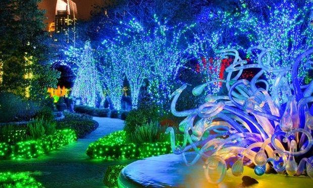 Χριστουγεννιάτικοι κήποι βγαλμένοι από παραμύθι! (εικόνες)