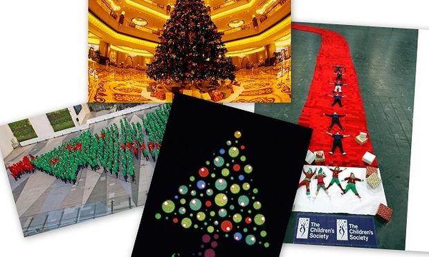 Δέκα απίστευτα Χριστουγεννιάτικα ρεκόρ που μπήκαν στο βιβλίο Γκίνες (εικόνες)