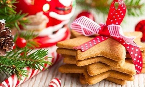 Συνταγή για τα πιο νόστιμα χριστουγεννιάτικα μπισκότα!
