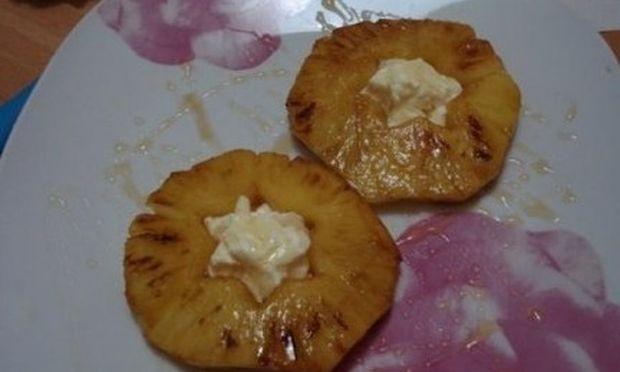 Συνταγή για ελαφρύ γλυκό τηγανιτό ανανά