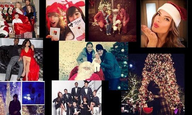Οι απολαυστικές Χριστουγεννιάτικες οικογενειακές φωτογραφίες των σταρ! Δείτε τις!