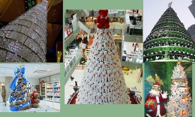 Αυτά είναι τα πιο περίεργα χριστουγεννιάτικα δέντρα του κόσμου! (εικόνες)