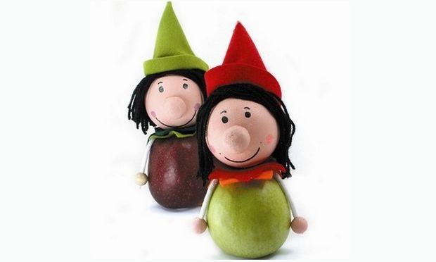 Φτιάξτε εύκολα καλικατζαράκια με μήλα