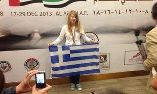 Το παγκόσμιο πρωτάθλημα σκακιού ανήκει στην 13χρονη Ελληνίδα Σταυρούλα Τσολακίδου (βίντεο)