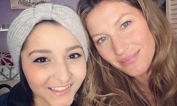 Η έκπληξη της Ζιζέλ στην 15χρονη Καρίνα που πάσχει από καρκίνο (βίντεο,εικόνες)