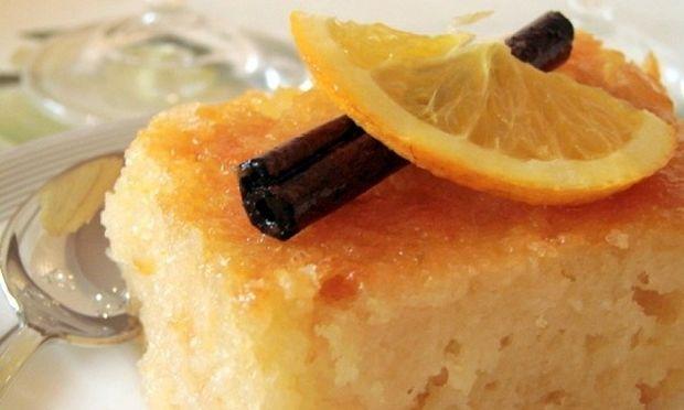 Συνταγή για εύκολη  πορτοκαλόπιτα!