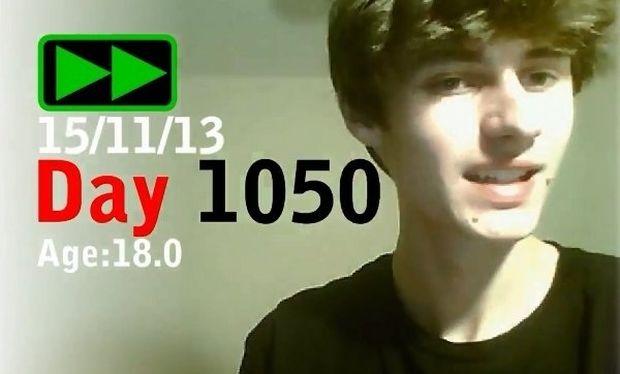 Ο 18χρονος που φωτογράφιζε για 3 χρόνια τον εαυτό του στο ίδιο τραγούδι! (βίντεο)