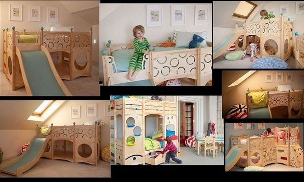 Παραμυθένια παιδικά κρεβάτια! Όταν ο ύπνος γίνεται παιχνίδι! (εικόνες)