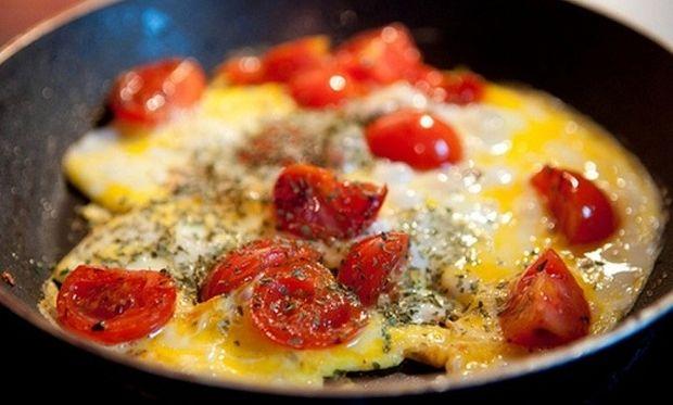 Συνταγή για μεσογειακή ομελέτα φούρνου!