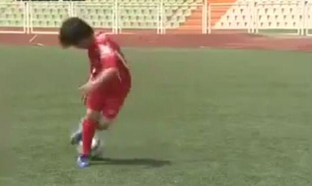 Είναι αυτός ο εννιάχρονος ο επόμενος Μέσι; (βίντεο)