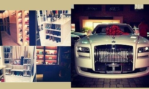 Η ευτυχισμένη μαμά με τα χιλιάδες παπούτσια και το δώρο έκπληξη του άντρα της! (εικόνες)