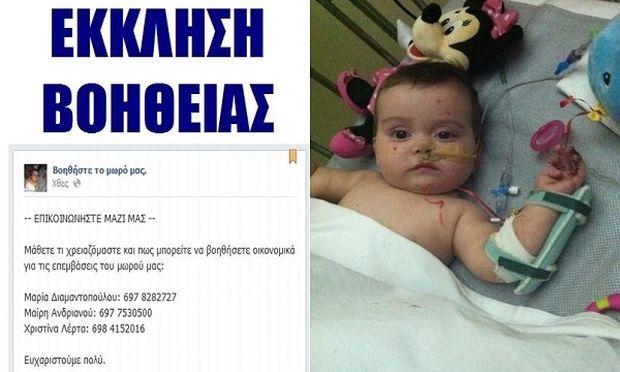 Το μικρό αγγελούδι χρειάζεται τη βοήθειά μας! (εικόνες)
