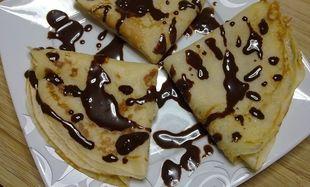 Συνταγή για εύκολες και λαχταριστές κρέπες σοκολάτας με μπισκότο!