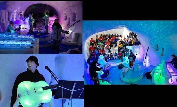 Μία «παγωμένη» συναυλία βγαλμένη από παραμύθι για όλη την οικογένεια! (εικόνες, βίντεο)