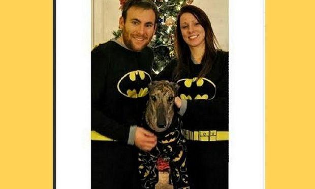 Ο μεγαλύτερος φαν του Μπάτμαν είναι σκύλος! Φοράει και πυτζάμες με τον αγαπημένο του ήρωα! (εικόνες,βίντεο)