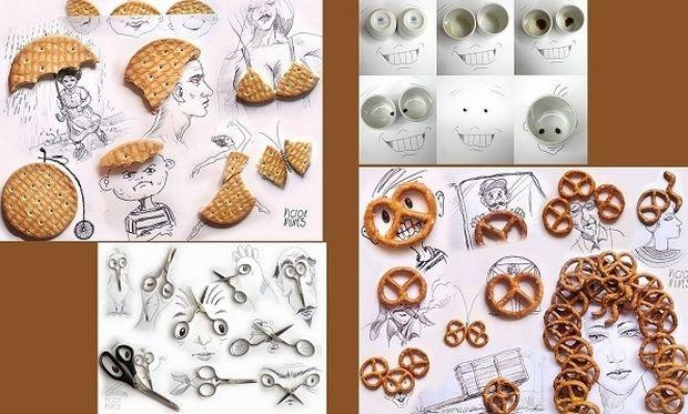 Αμα είσαι καλλιτέχνης ακόμα και τα προϊόντα καθημερινής χρήσης γίνονται... τέχνη! (εικόνες)