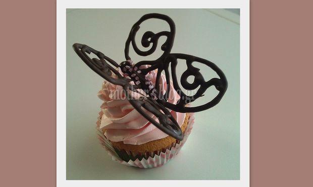 My cakes- My hobby: Φτιάχνουμε σοκολατένιες πεταλούδες!