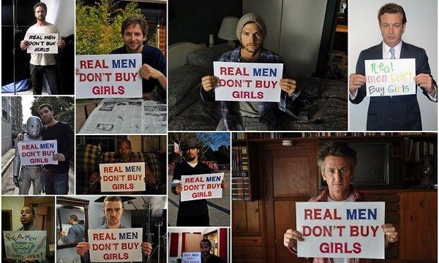 «Οι αληθινοί άντρες δεν αγοράζουν κορίτσια». Η καμπάνια κατά της παιδικής πορνείας (εικόνες+βίντεο)