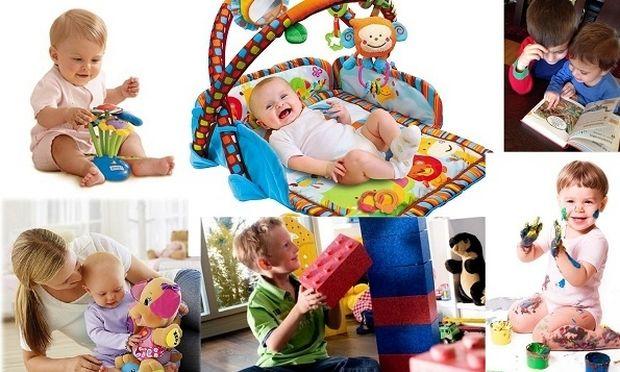 Αυτά είναι τα κατάλληλα παιχνίδια, ανάλογα με την ηλικία του παιδιού  (εικόνες)