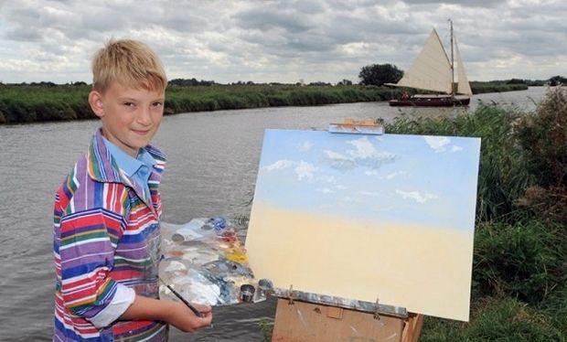 Οι πίνακες ζωγραφικής του 11χρονου «Μονέ» τον έκαναν δισεκατομμυριούχο! (εικόνες)