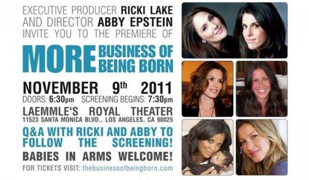Διάσημες μανούλες ενώνουν τις δυνάμεις τους: Δείτε το τρέιλερ της ταινίας «the business of being born»!