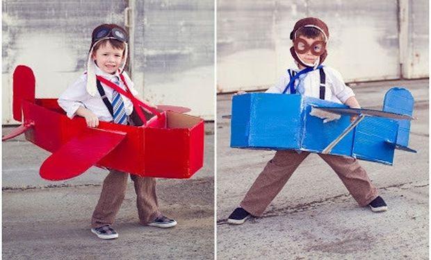 Φτιάχνουμε την καλύτερη στολή πιλότου μαζί με το αεροπλάνο του!