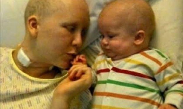 Γέννησε πρόωρα για να αρχίσει χημειοθεραπείες και μόλις τελείωσαν ήταν ήδη έγκυος στο επόμενο!