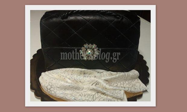 b2265db002c2 My cakes - My hobby! Φτιάχνουμε υπέροχη τούρτα τσάντα! - Mothersblog.gr