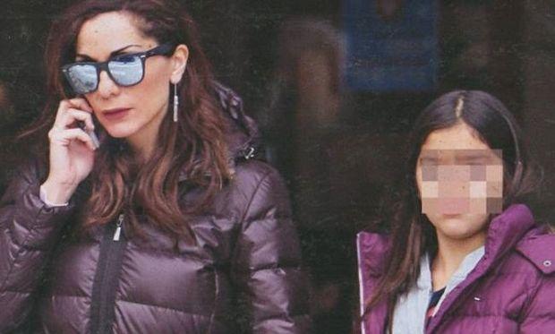 Δέσποινα Βανδή: Πρωινή έξοδος με την κόρη της!