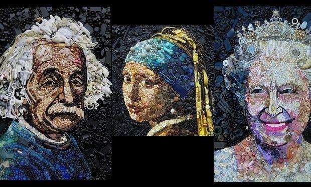 Η τέχνη θέλει φαντασία και... οικιακά αντικείμενα! (εικόνες)
