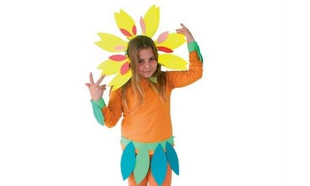 Φτιάχνουμε αποκριάτικη στολή λουλουδιού για το κοριτσάκι μας