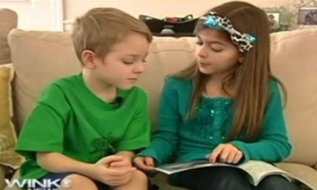 Η 9χρονη που έγραψε βιβλίο για να σώσει τον αδελφό της από μία σπάνια ασθένεια (εικόνες)