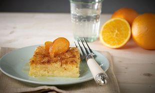 Συνταγή για λαχταριστή πορτοκαλόπιτα