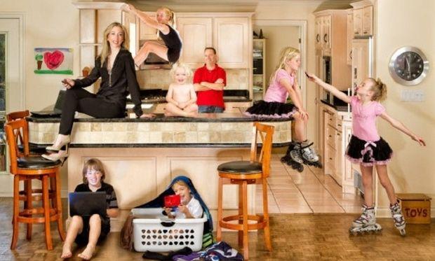 Αυτή η πολύτεκνη μαμά μας εξηγεί για ποιους λόγους είναι ωραίο να έχεις 6 παιδιά! (εικόνες)