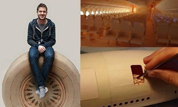 Απίστευτο! 22χρονος αφιέρωσε 10.000 ώρες για να φτιάξει το μεγαλύτερο αεροπλάνο στον κόσμο! (εικόνες, βίντεο)