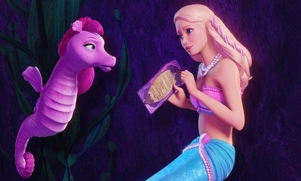 Βarbie, η πριγκίπισσα των μαργαριταριών! Μία λαμπερή υποβρύχια περιπέτεια! (βίντεο)