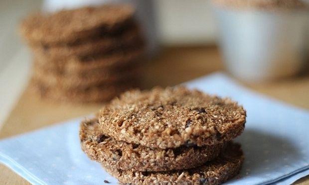 Συνταγή για λαχταριστά μπισκότα δημητριακών!