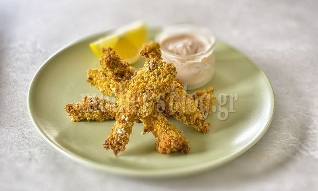 Συνταγή για τέλειο κοτόπουλο πανέ με φιστίκι Αιγίνης και ντιπ γιαουρτιού από τον Γιώργο Γεράρδο