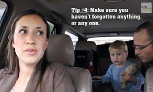 Ξεκαρδιστικές συμβουλές για να ταξιδέψετε με την οικογένειά σας (βίντεο)