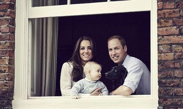 Ο μικρός πρίγκιπας Τζορτζ μεγάλωσε (φωτογραφία)