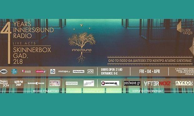 Φιλανθρωπική εκδήλωση για τα παιδιά απόρων οικογενειών από το Innersound Radio