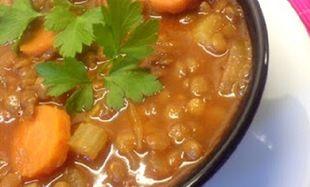 Συνταγή για σούπα με κόκκινες φακές και καρότο για το μωρό!