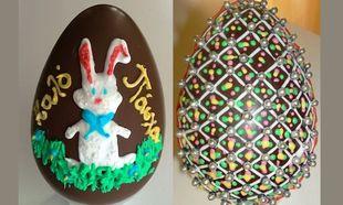 My cakes - My hobby: Φτιάχνουμε σοκολατένια πασχαλινά αυγά