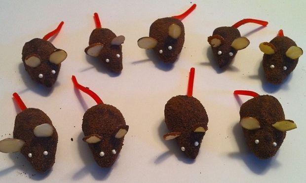 Συνταγή για τρομερά σοκολατένια ποντικάκια