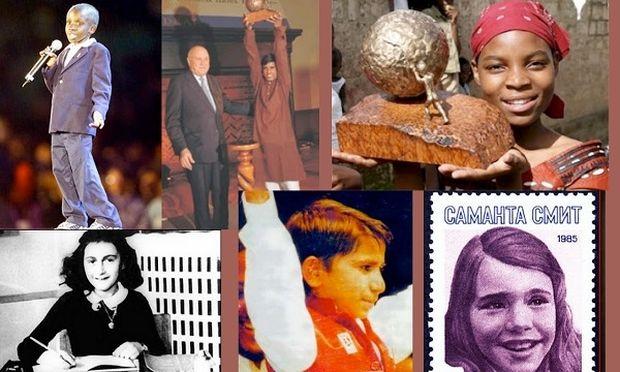 Αυτά είναι τα 7 παιδιά που άλλαξαν τον κόσμο! Δείτε γιατί! (φωτογραφίες)