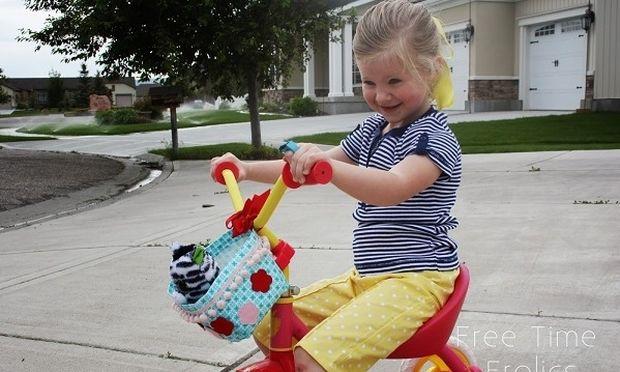 Φτιάχνουμε οικονομικό καλαθάκι για το ποδήλατο του παιδιού μας
