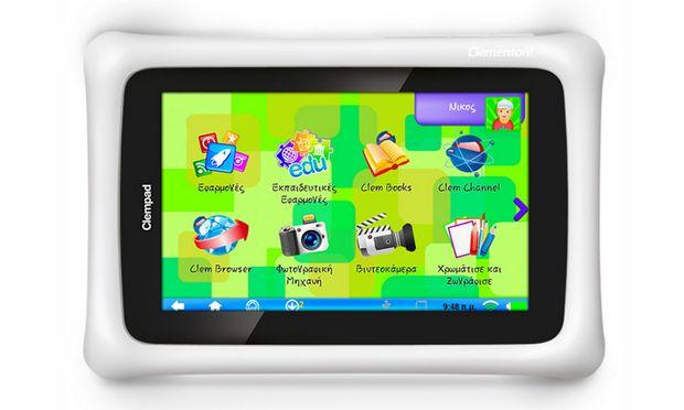 Clempad! Tο εκπαιδευτικό tablet ειδικά σχεδιασμένο για παιδιά που έγινε ο σωτήρας των γονιών!