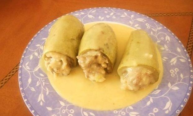 Συνταγή για γεμιστά κολοκυθάκια με κιμά και ρύζι