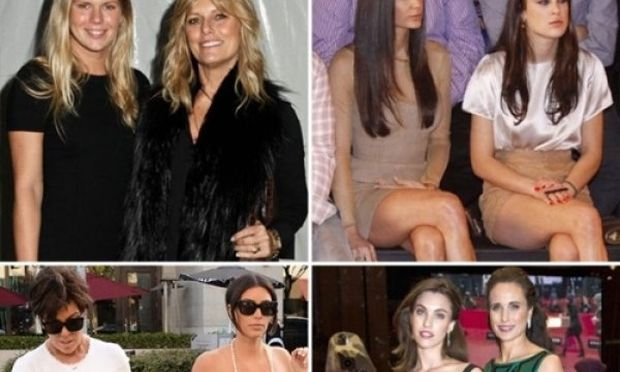 Το στυλ είναι οικογενειακή υπόθεση: Πόσο μοιάζουν διάσημες μαμάδες και κόρες fashionistas;